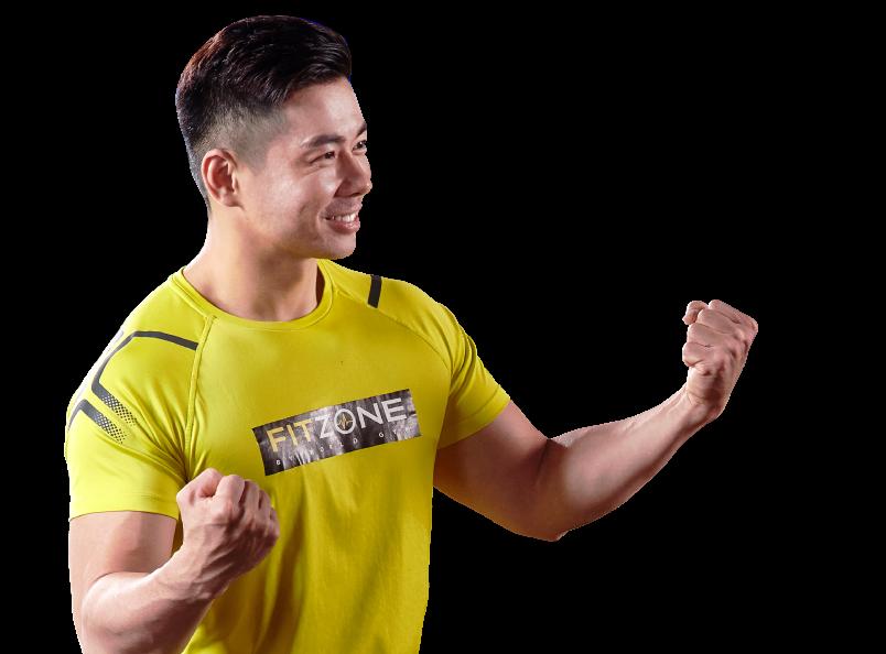 FITZONE是60分鐘快速燃燒脂肪運動教練課程