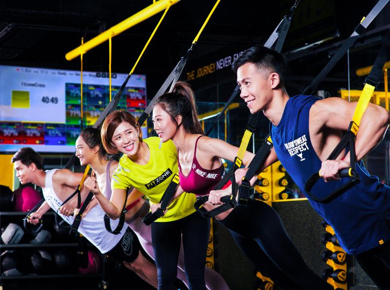 FITZONE提供給您最棒的60分鐘高強度間歇訓練